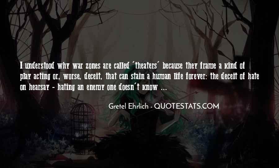 Gretel Ehrlich Quotes #1087329