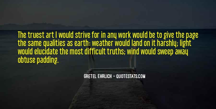 Gretel Ehrlich Quotes #184728