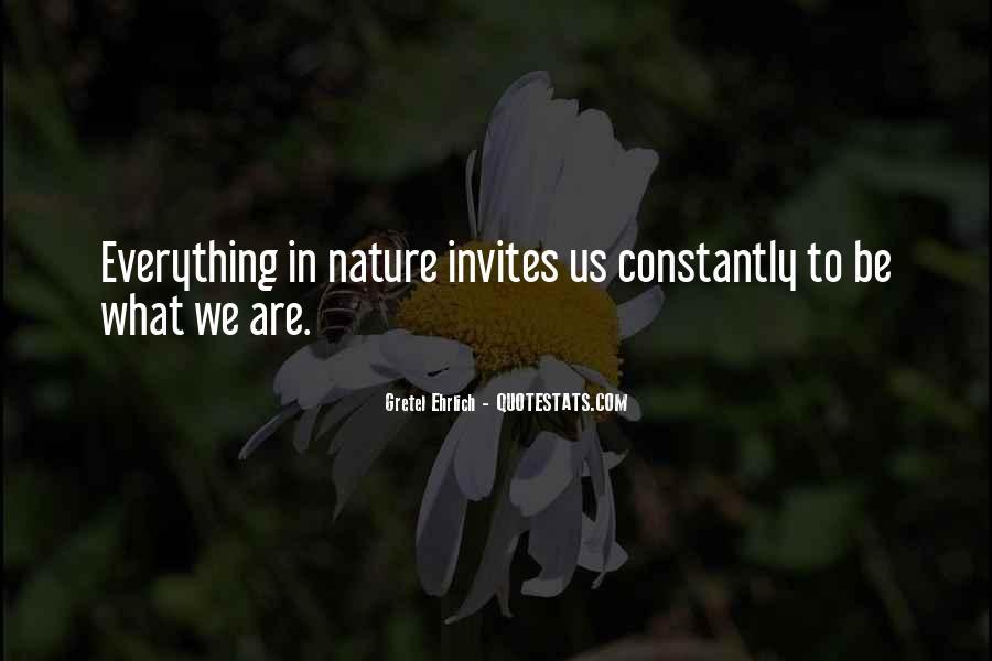 Gretel Ehrlich Quotes #75155
