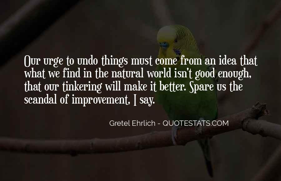 Gretel Ehrlich Quotes #81541