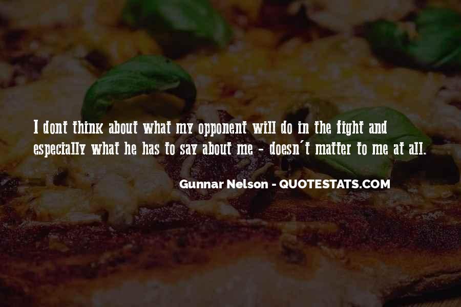 Gunnar Nelson Quotes #289270