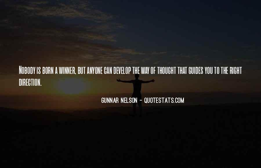 Gunnar Nelson Quotes #574172