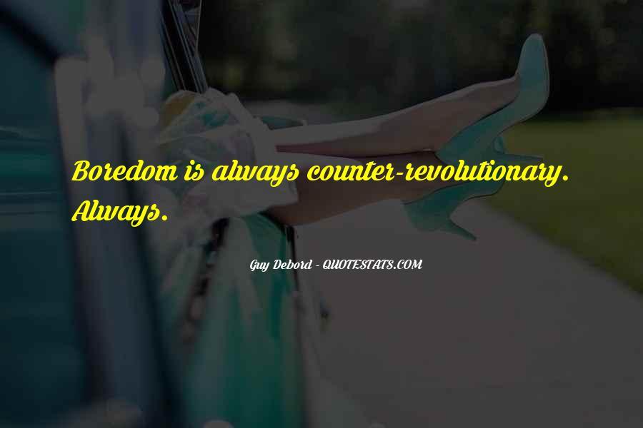 Guy Debord Quotes #422567