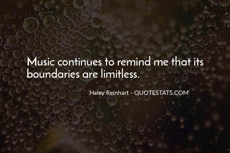 Haley Reinhart Quotes #1635012
