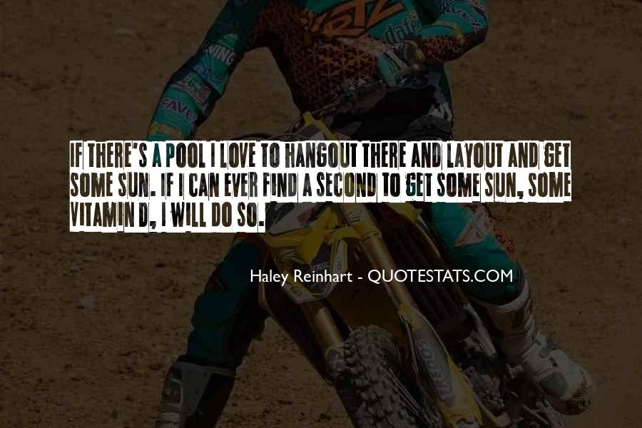 Haley Reinhart Quotes #585078