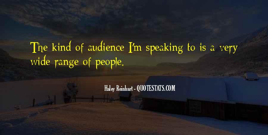 Haley Reinhart Quotes #666479