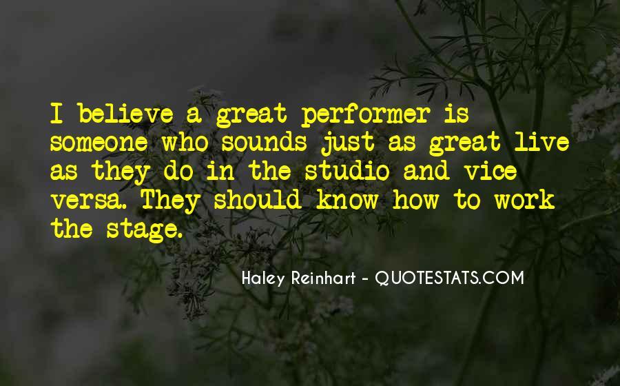 Haley Reinhart Quotes #679347