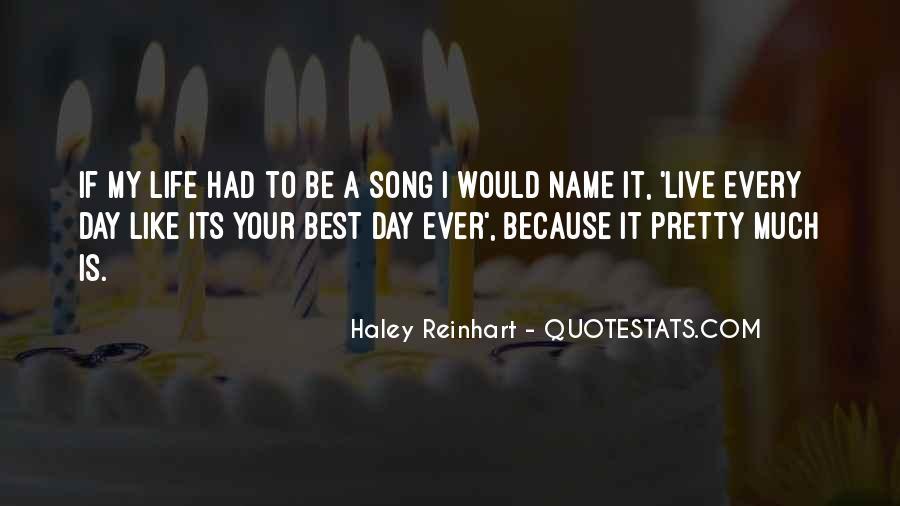 Haley Reinhart Quotes #772492