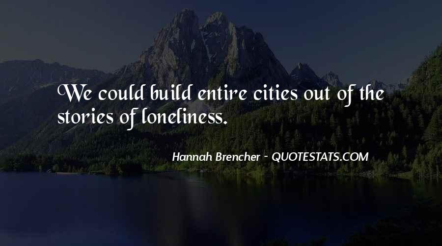 Hannah Brencher Quotes #100122