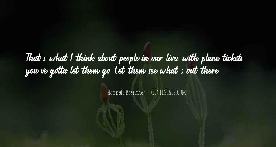 Hannah Brencher Quotes #1508090