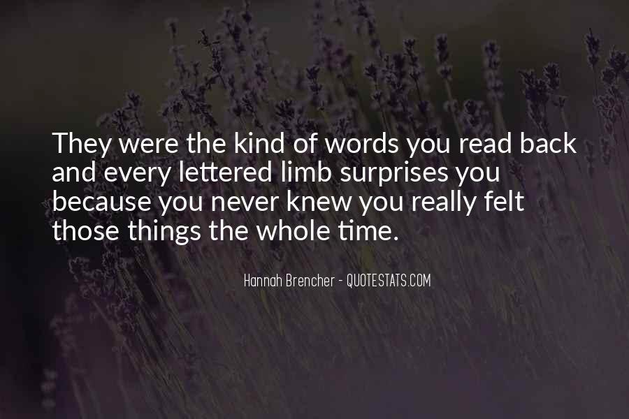 Hannah Brencher Quotes #1618736