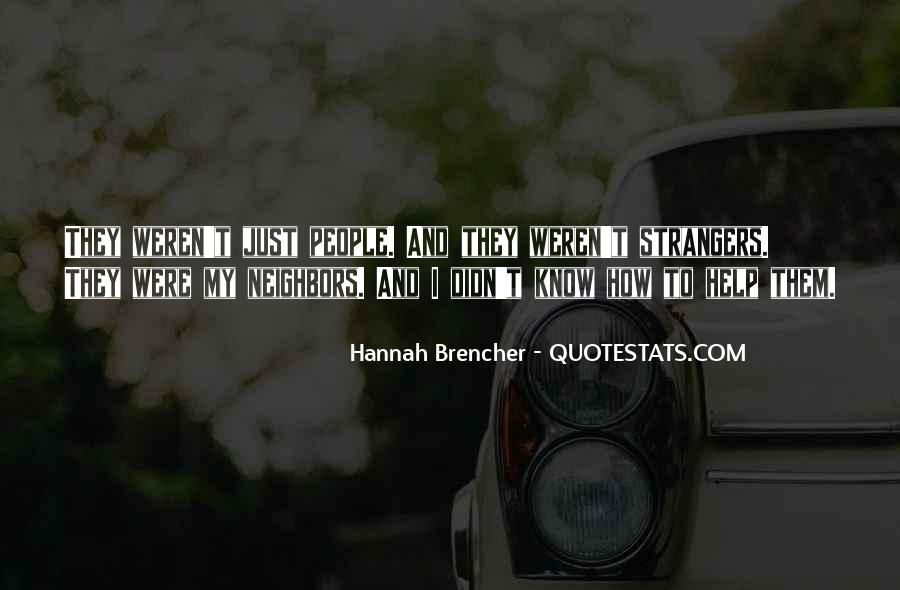 Hannah Brencher Quotes #191910