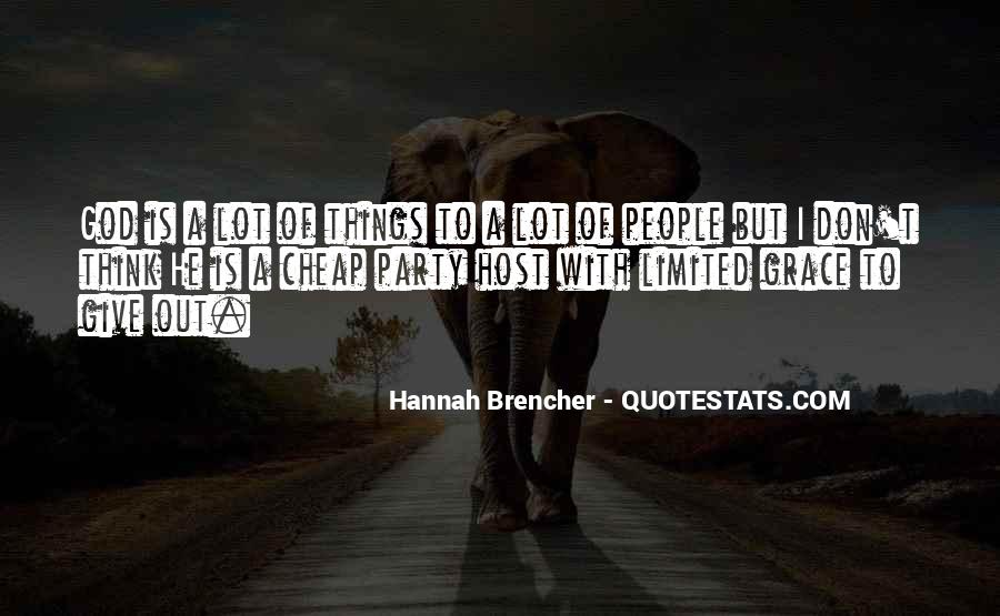 Hannah Brencher Quotes #861610