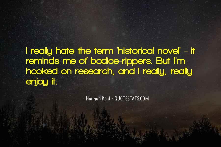 Hannah Kent Quotes #1876054