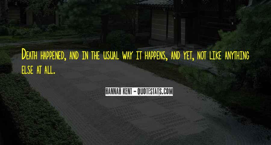 Hannah Kent Quotes #794766