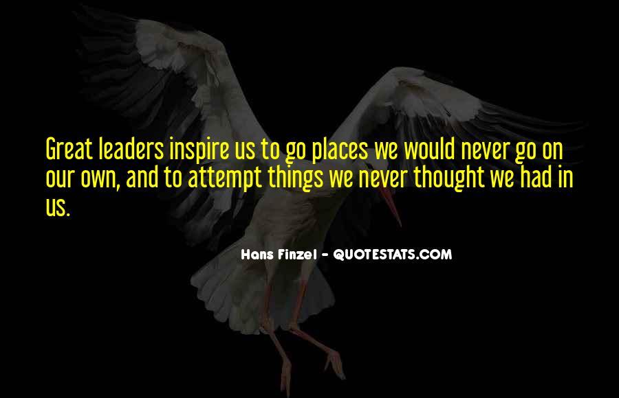 Hans Finzel Quotes #1337021