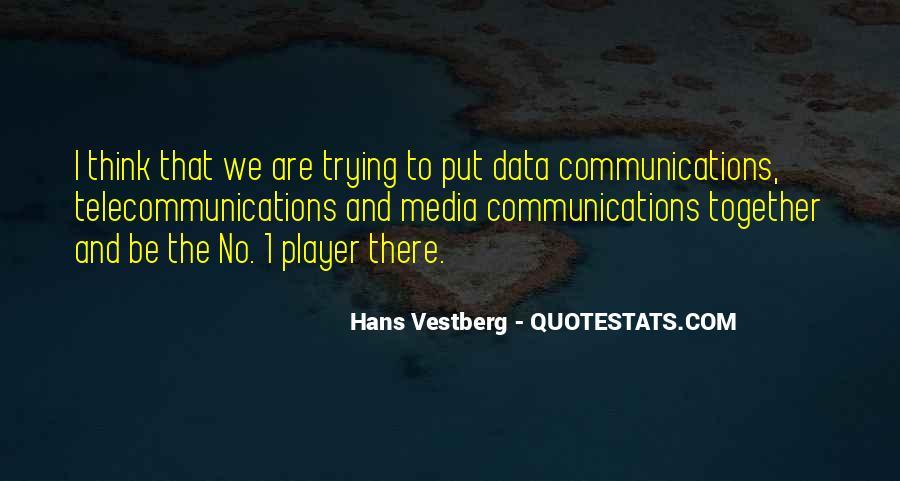 Hans Vestberg Quotes #1104190