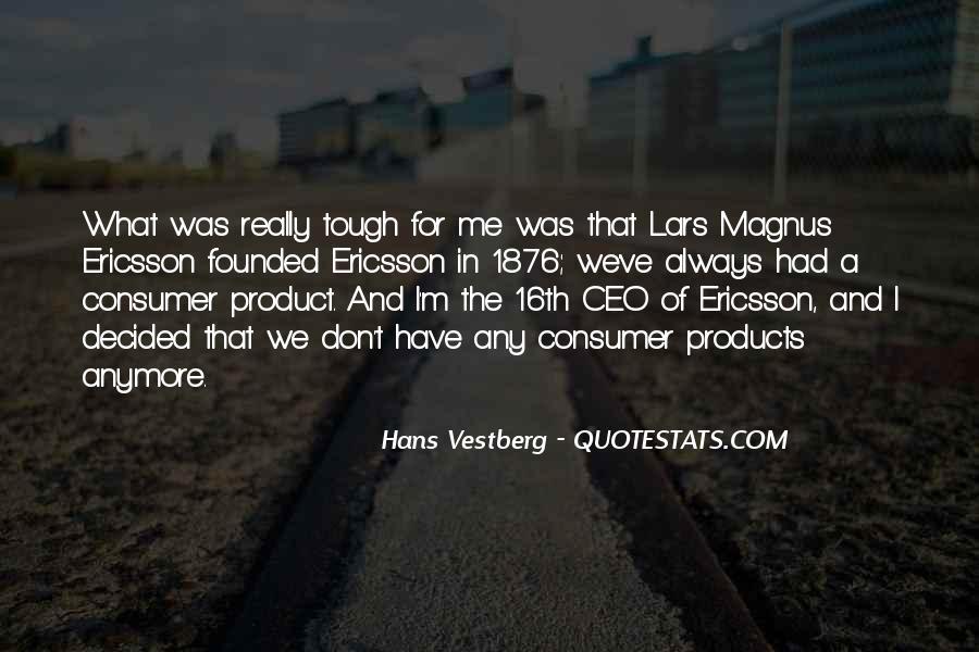 Hans Vestberg Quotes #1355685