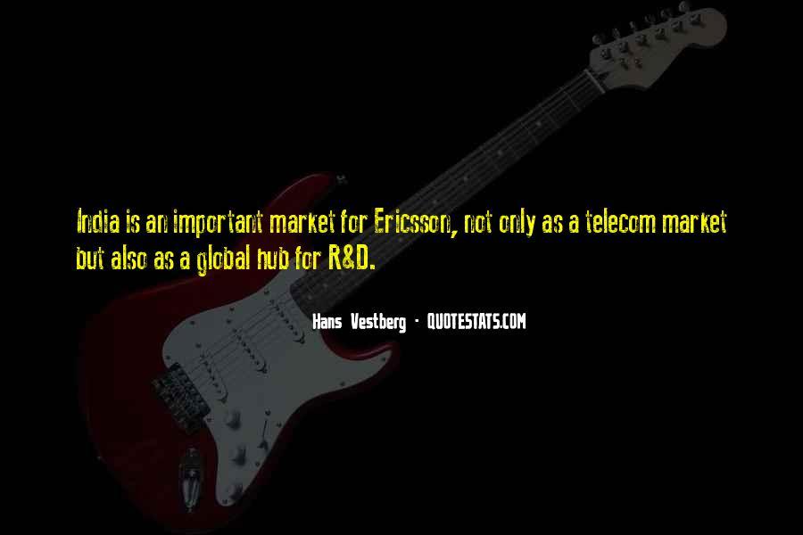 Hans Vestberg Quotes #1360890