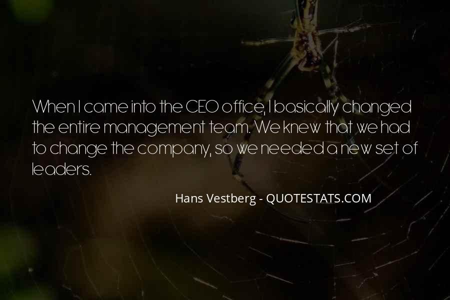 Hans Vestberg Quotes #499771