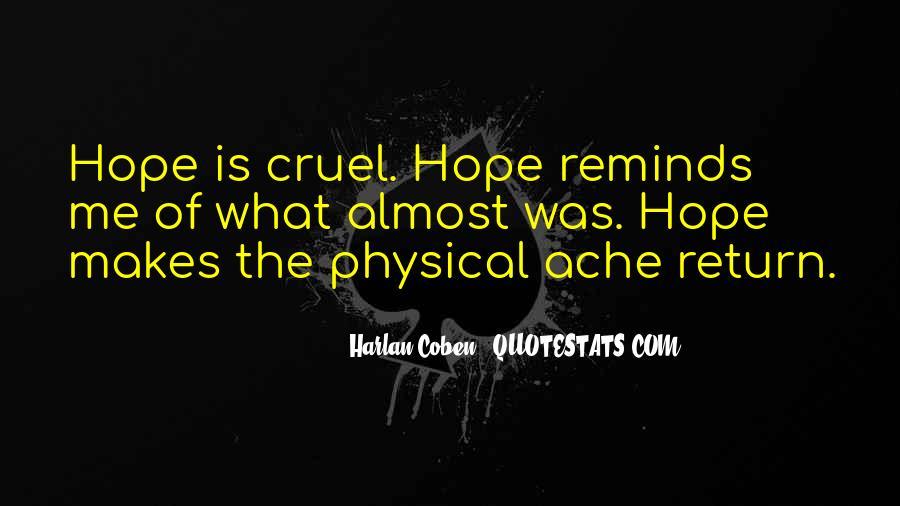 Harlan Coben Quotes #133633