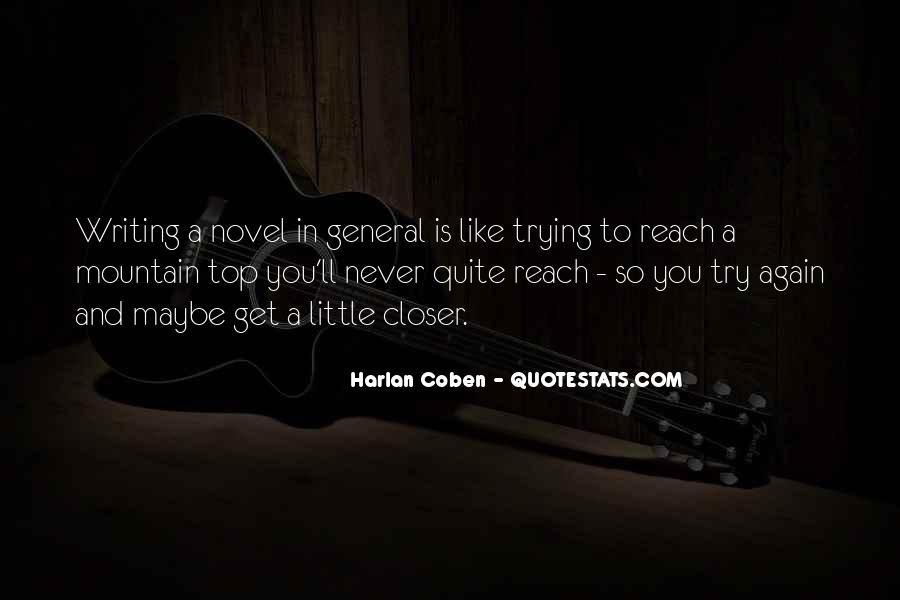 Harlan Coben Quotes #151688