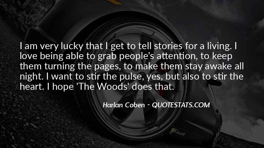 Harlan Coben Quotes #152554