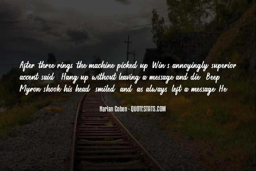 Harlan Coben Quotes #200694
