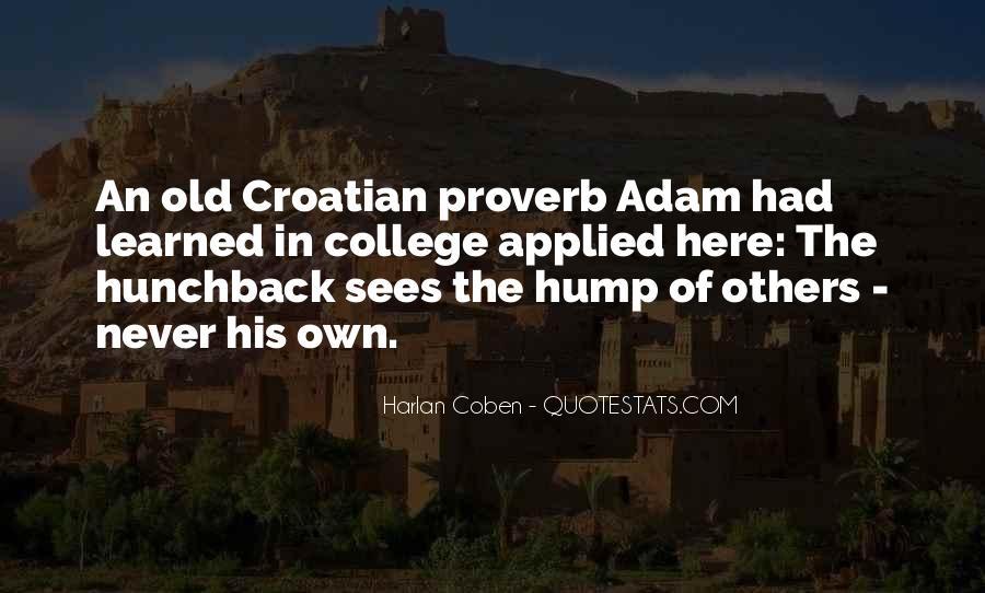 Harlan Coben Quotes #207832