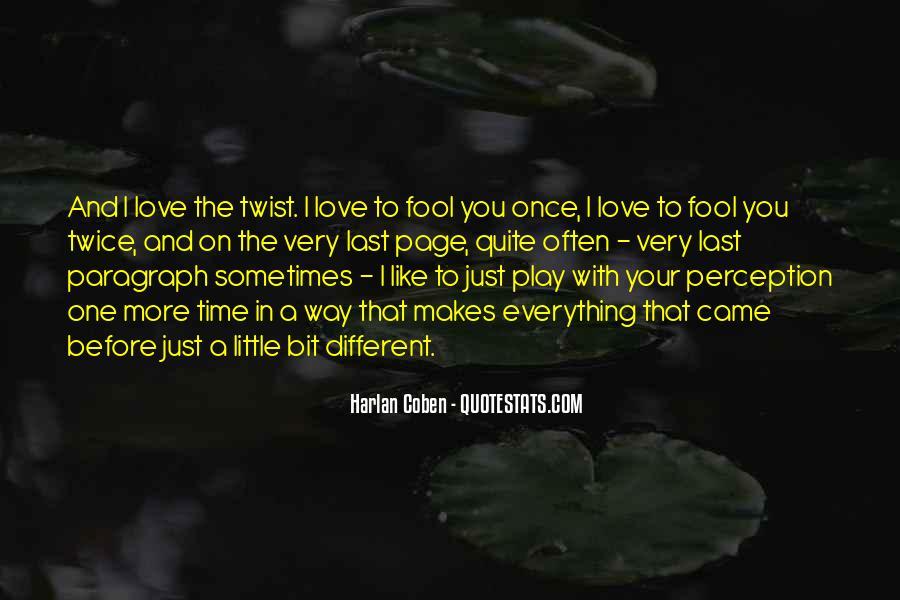 Harlan Coben Quotes #233647