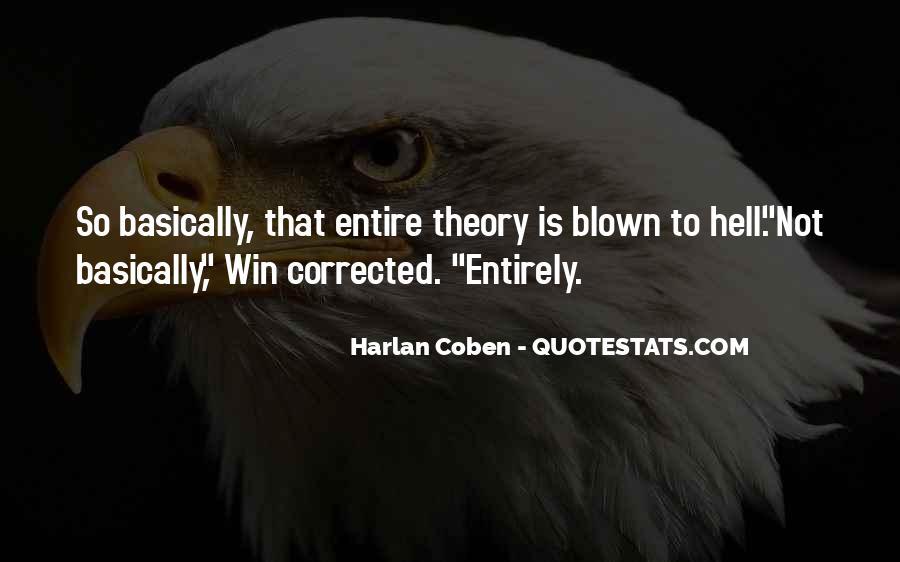 Harlan Coben Quotes #246218