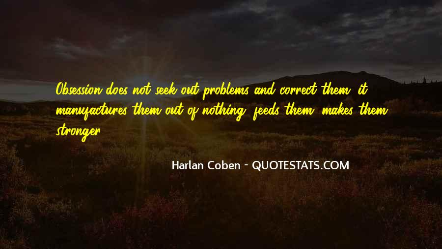 Harlan Coben Quotes #25881