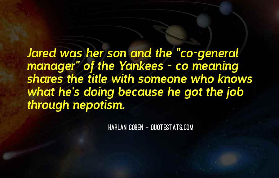 Harlan Coben Quotes #289183