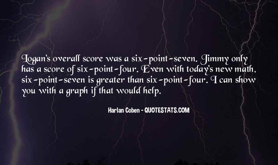Harlan Coben Quotes #303886