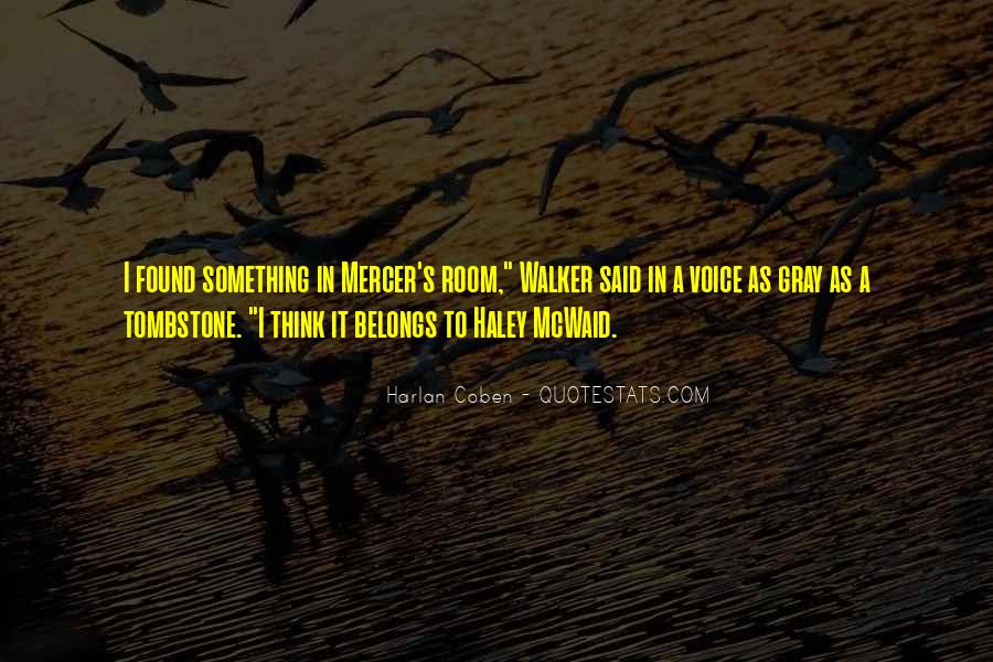 Harlan Coben Quotes #305805