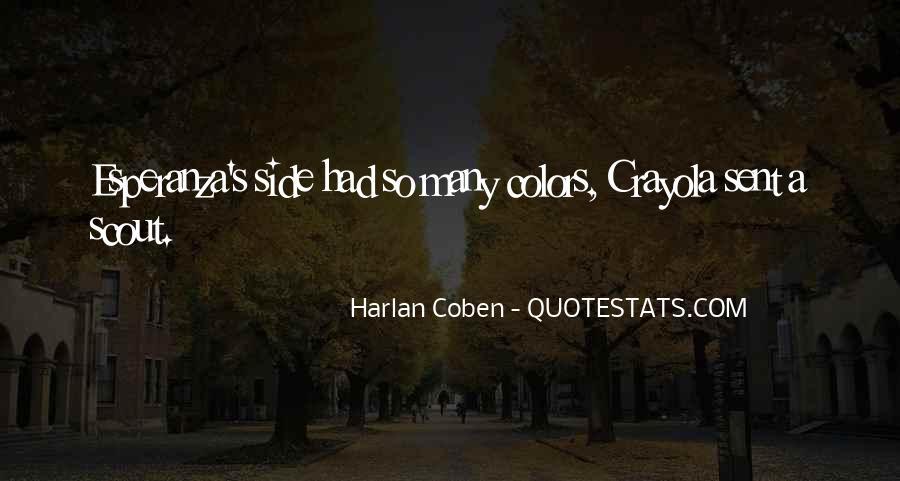 Harlan Coben Quotes #407394