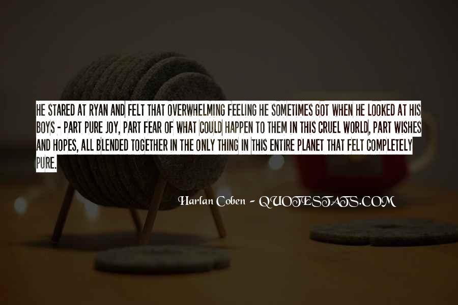 Harlan Coben Quotes #411910