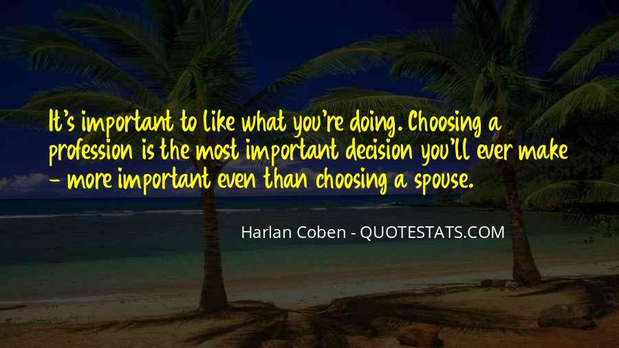 Harlan Coben Quotes #446057