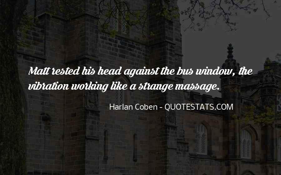 Harlan Coben Quotes #455180