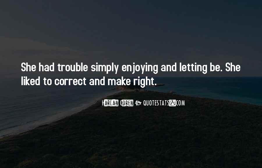 Harlan Coben Quotes #471592