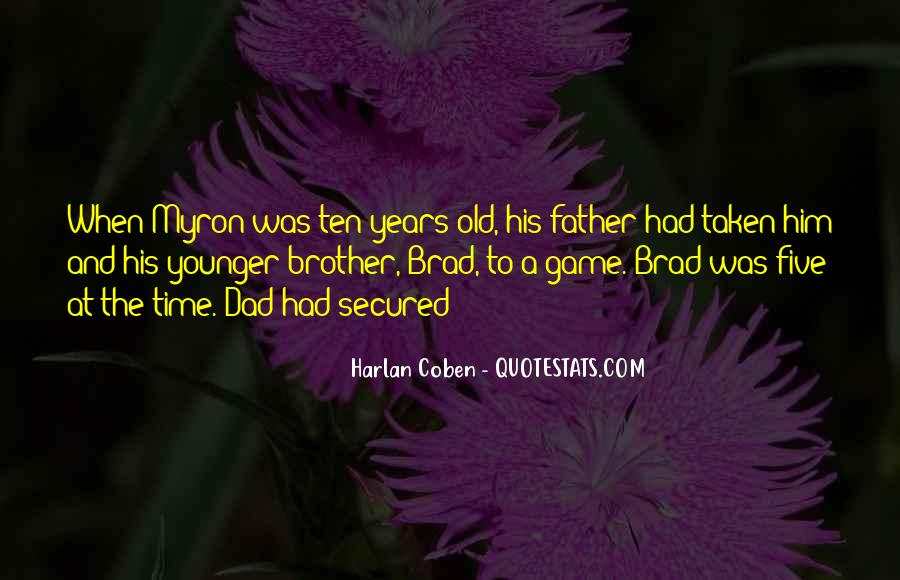 Harlan Coben Quotes #505989