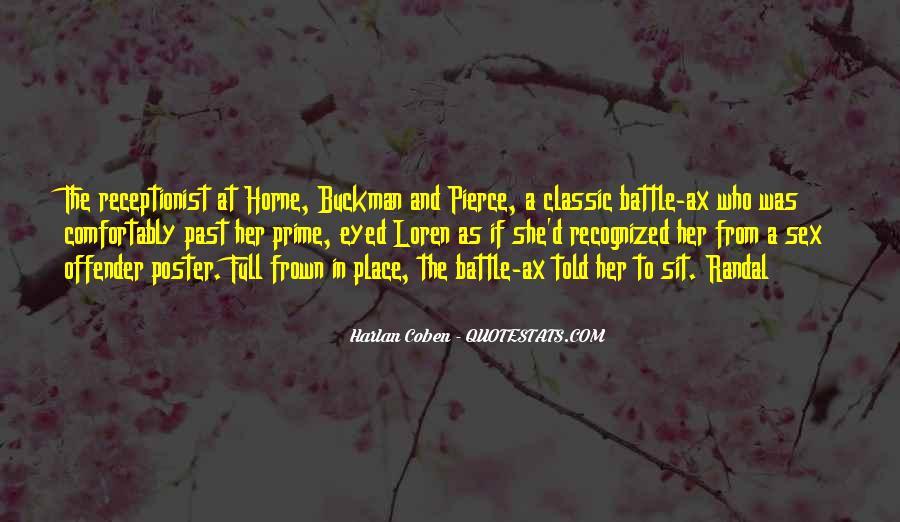 Harlan Coben Quotes #73849