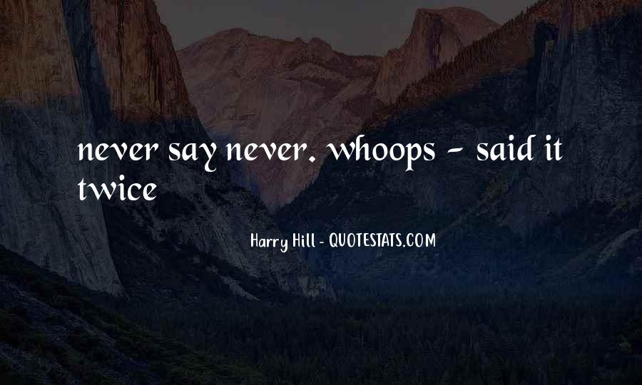 Harry Hill Quotes #788735