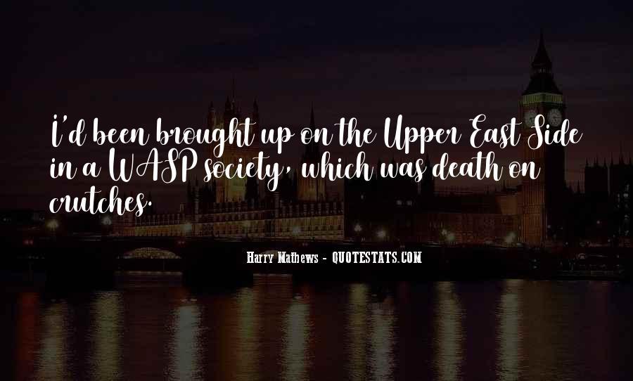 Harry Mathews Quotes #1048636