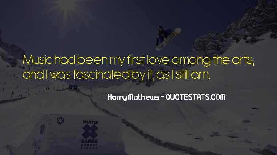 Harry Mathews Quotes #1109895