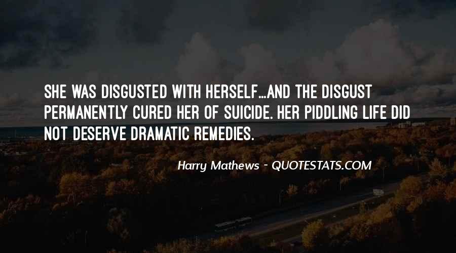 Harry Mathews Quotes #1252088