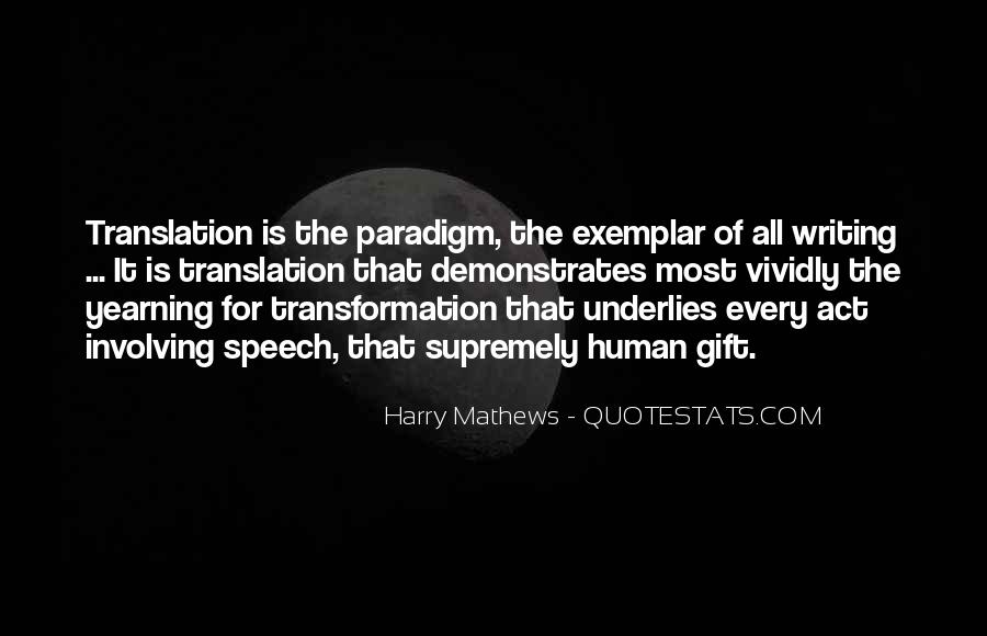 Harry Mathews Quotes #1815014