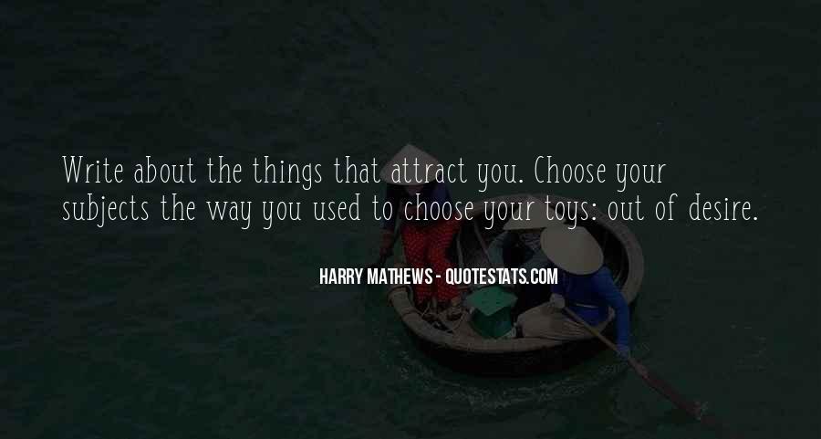 Harry Mathews Quotes #591038