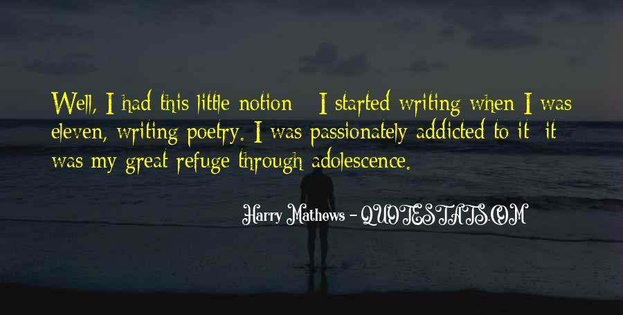 Harry Mathews Quotes #647611