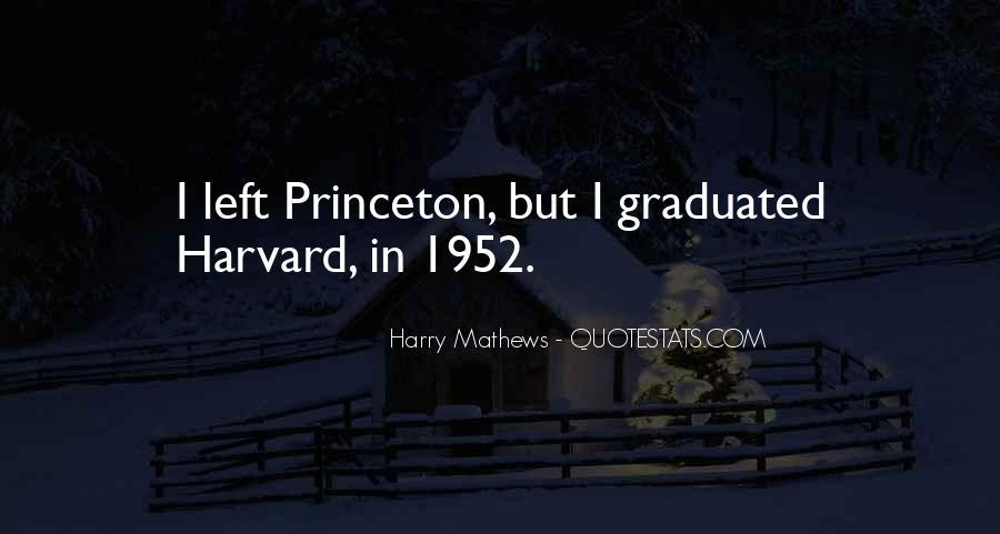 Harry Mathews Quotes #985022